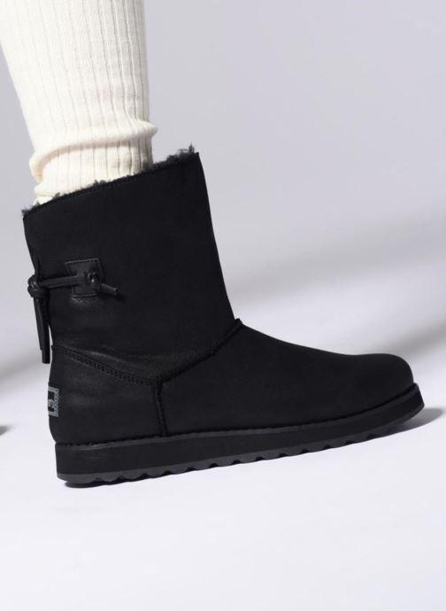 Boots en enkellaarsjes Skechers Keepsakes 2.0 Hearth Zwart onder