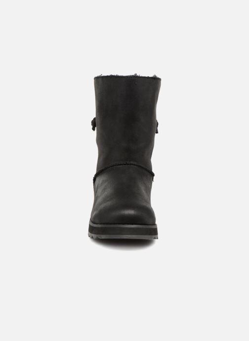 Bottines et boots Skechers Keepsakes 2.0 Hearth Noir vue portées chaussures