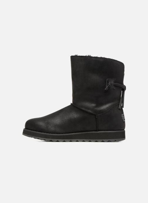 Boots en enkellaarsjes Skechers Keepsakes 2.0 Hearth Zwart voorkant