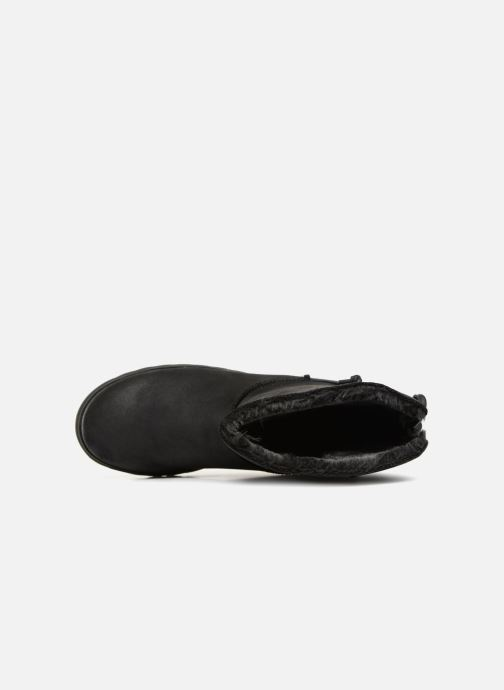 Boots en enkellaarsjes Skechers Keepsakes 2.0 Hearth Zwart links