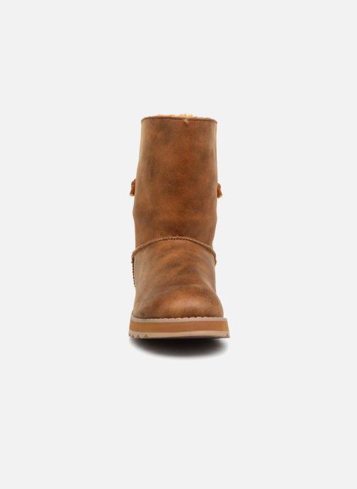 Bottines et boots Skechers Keepsakes 2.0 Hearth Marron vue portées chaussures