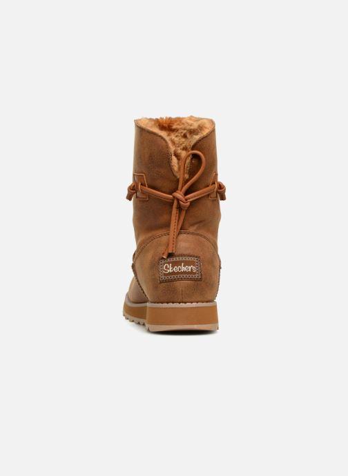 Boots en enkellaarsjes Skechers Keepsakes 2.0 Hearth Bruin rechts