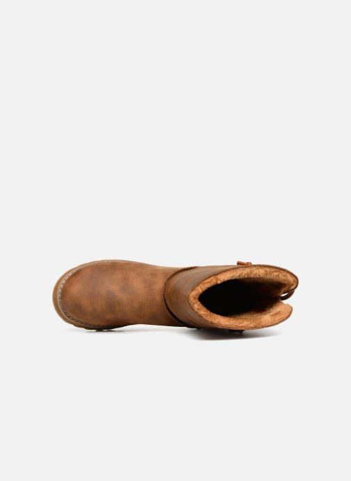 Boots en enkellaarsjes Skechers Keepsakes 2.0 Hearth Bruin links