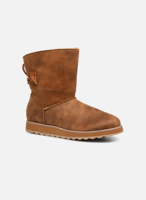 Boots en enkellaarsjes Skechers Keepsakes 2.0 Hearth Bruin detail