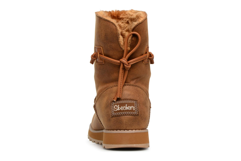 Bottines et boots Skechers Keepsakes 2.0 Hearth Marron vue droite