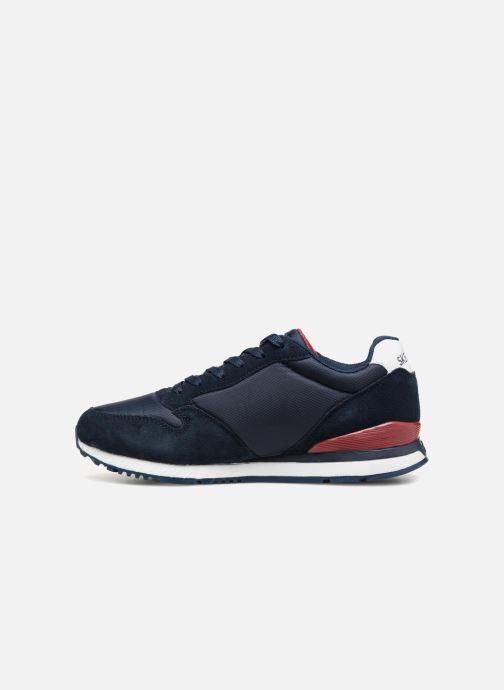 Sneakers Skechers Sunlite Waltan Blauw voorkant