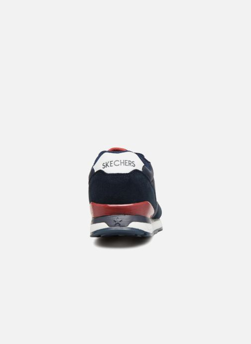 Sneaker Skechers Sunlite Waltan blau ansicht von rechts