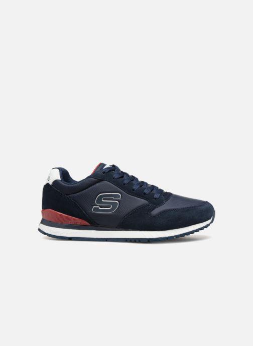 Sneakers Skechers Sunlite Waltan Blauw achterkant