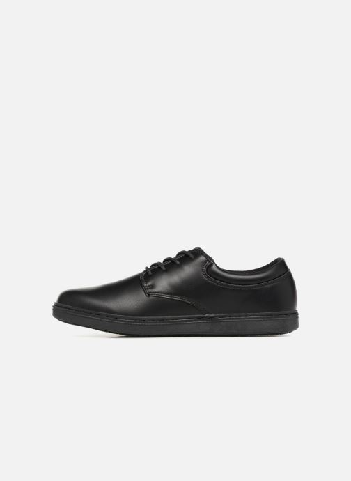 Lace-up shoes Skechers Lanson Escape Black front view