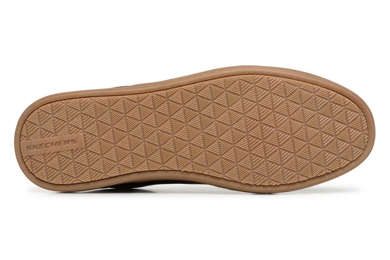 Chaussures à lacets Skechers Lanson Escape Marron vue haut