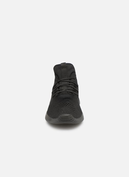 Sneaker Skechers Depth Charge Up To Snuff grau schuhe getragen