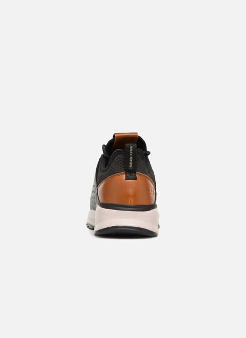 Sneaker Skechers Relven Hemson schwarz ansicht von rechts