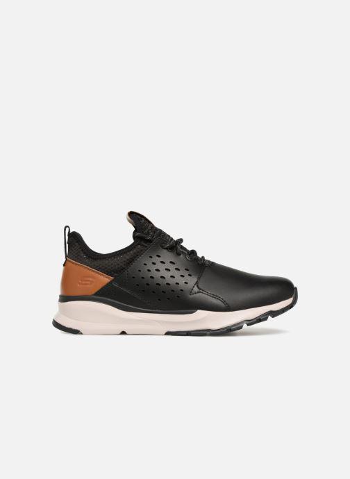 Sneaker Skechers Relven Hemson schwarz ansicht von hinten