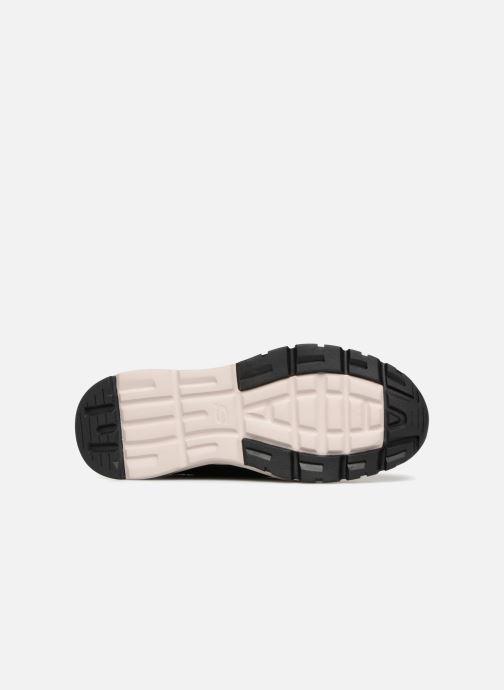 Sneaker Skechers Relven Hemson schwarz ansicht von oben