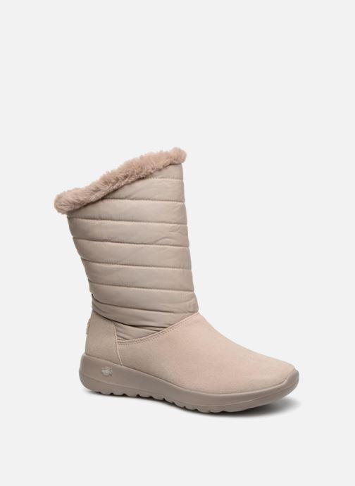 Stiefel Skechers On-The-Go Joy Blizz beige detaillierte ansicht/modell