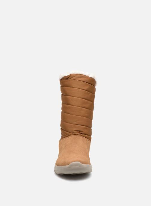 Stövlar & gummistövlar Skechers On-The-Go Joy Blizz Brun bild av skorna på