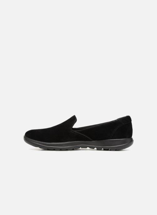 Loafers Skechers Go Walk Lite Glam Svart bild från framsidan