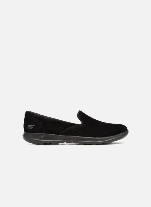 Loafers Skechers Go Walk Lite Glam Svart bild från baksidan
