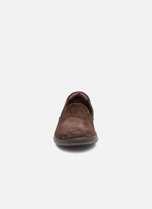Loafers Skechers Go Walk Lite Glam Brun se skoene på