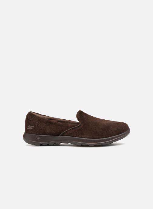 Loafers Skechers Go Walk Lite Glam Brun se bagfra