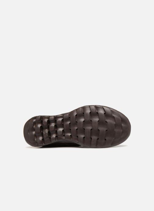 Loafers Skechers Go Walk Lite Glam Brun se foroven