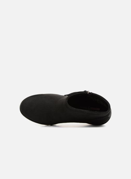 Bottines et boots Skechers Tumble Weed Sun Chase Noir vue gauche