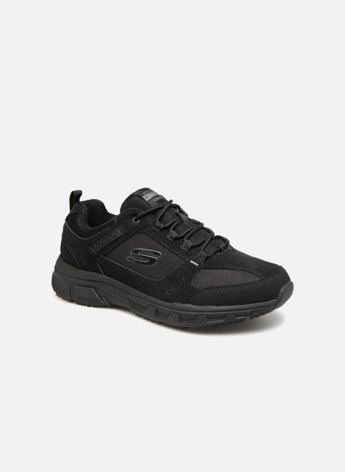 Sportssko Skechers Oak Canyon Sort detaljeret billede af skoene