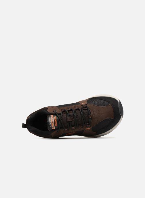 Chaussures de sport Skechers Oak Canyon Marron vue gauche