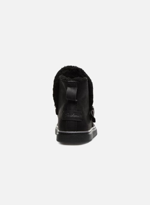 Botines  Skechers Keepsneak Pocatello Negro vista lateral derecha
