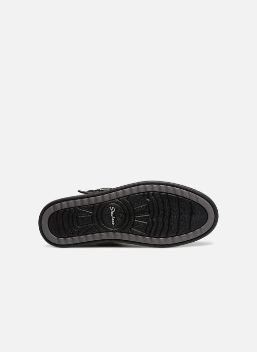 Botines  Skechers Keepsneak Pocatello Negro vista de arriba