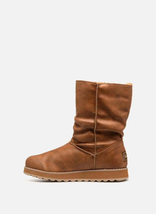 Boots en enkellaarsjes Skechers Keepsakes 2.0 Upland Bruin voorkant