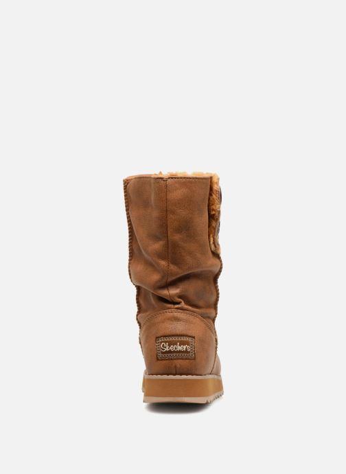 Boots en enkellaarsjes Skechers Keepsakes 2.0 Upland Bruin rechts