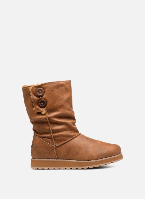 Boots en enkellaarsjes Skechers Keepsakes 2.0 Upland Bruin achterkant