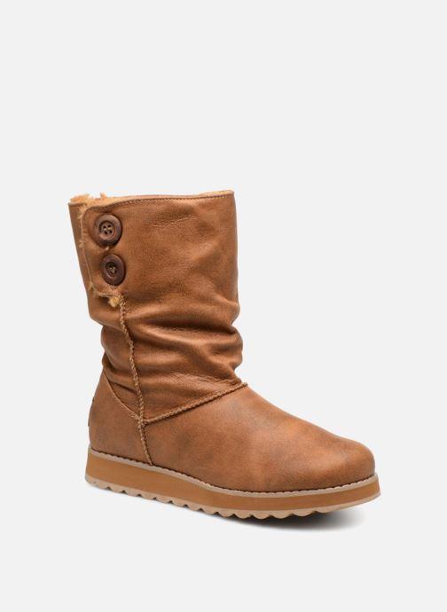 Boots en enkellaarsjes Skechers Keepsakes 2.0 Upland Bruin detail