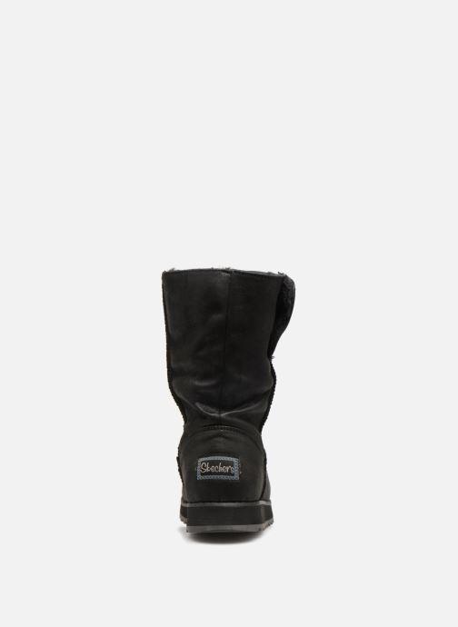 Boots en enkellaarsjes Skechers Keepsakes 2.0 Upland Zwart rechts