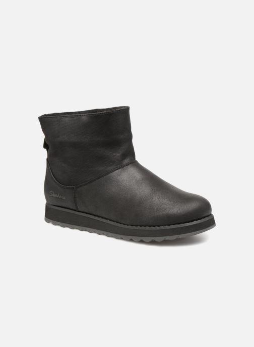 Boots en enkellaarsjes Skechers Keepsakes 2.0 Cloud Peak Zwart detail
