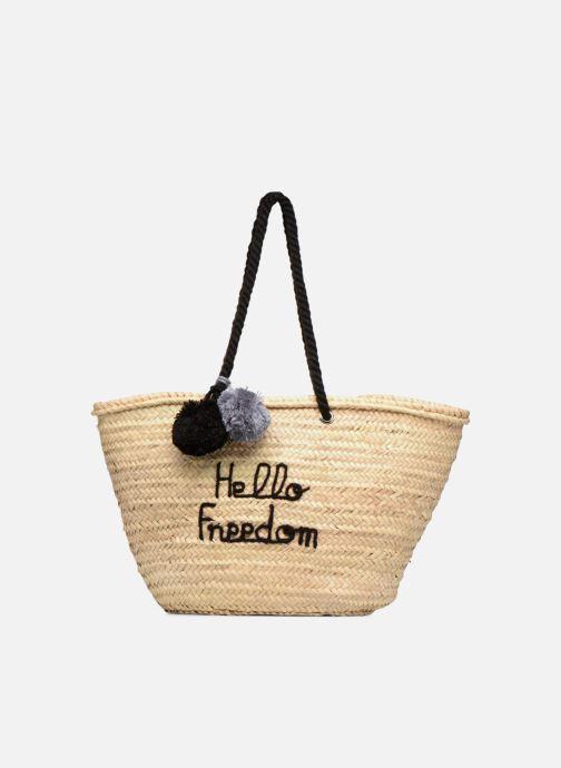 Handtassen Original Marrakech PANIER ORIGINAL HELLO FREEDOM Zwart detail