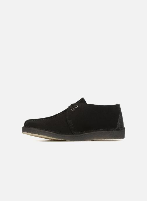 Chaussures à lacets Clarks Originals Desert Trek  M Noir vue face