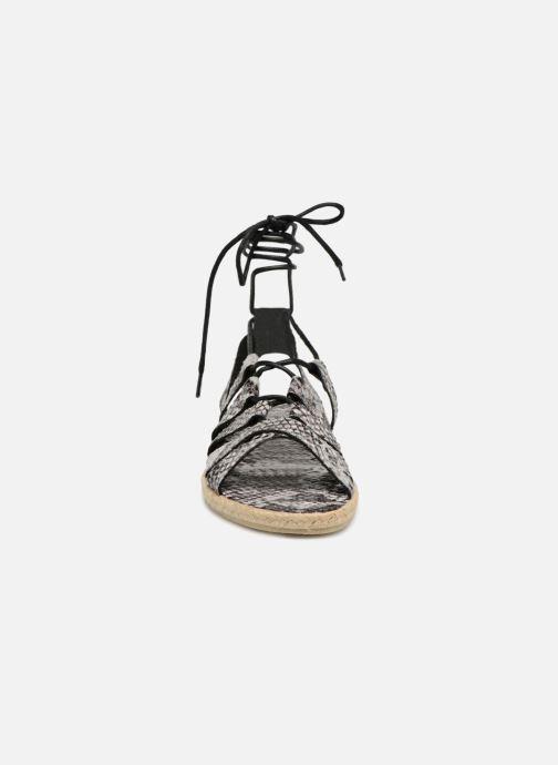 Sandalen Pieces Louisa Grijs model