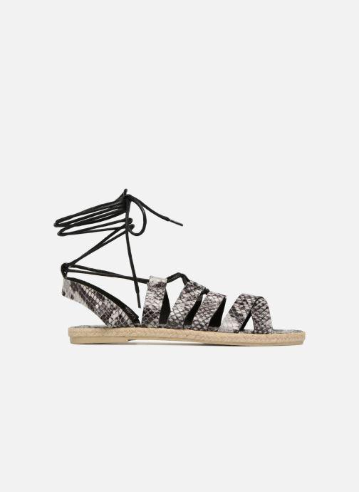 Sandalen Pieces Louisa Grijs achterkant