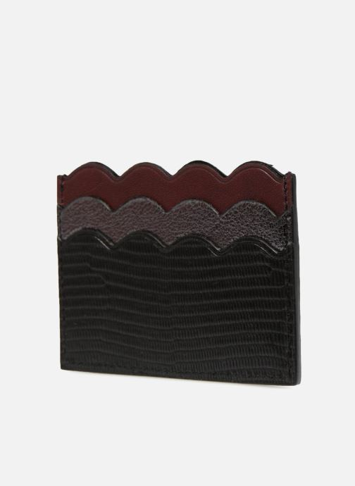 Petite Maroquinerie Vanessa Bruno Card Holder 5CC Noir vue portées chaussures