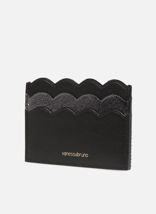 Petite Maroquinerie Vanessa Bruno Card Holder 5CC Noir vue droite