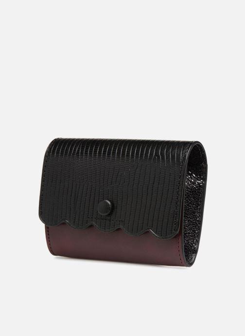 Petite Maroquinerie Vanessa Bruno Card Wallet Noir vue portées chaussures