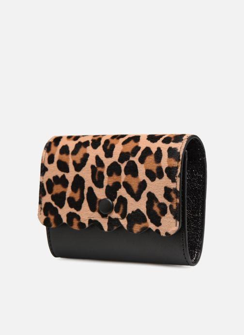 Pelletteria Vanessa Bruno Card Wallet Nero modello indossato