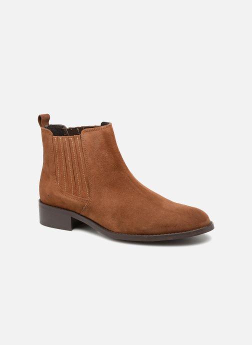 Bottines et boots COSMOPARIS FINCH Marron vue détail/paire
