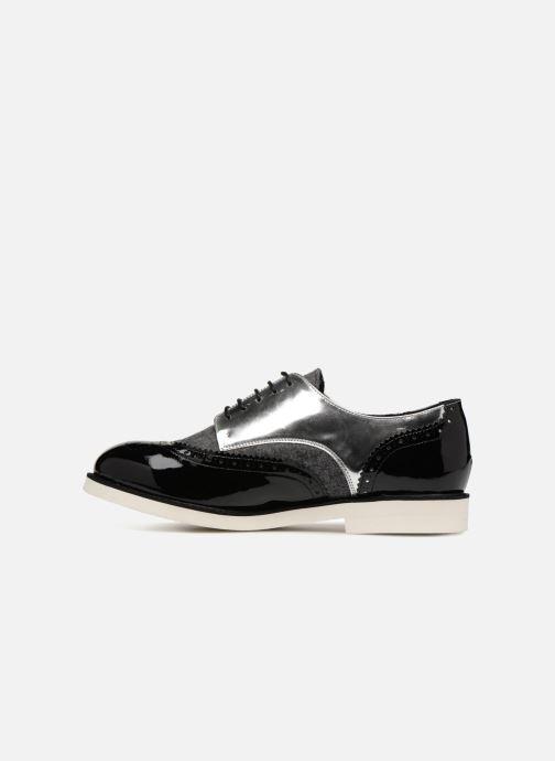 Zapatos con cordones COSMOPARIS ELA Negro vista de frente