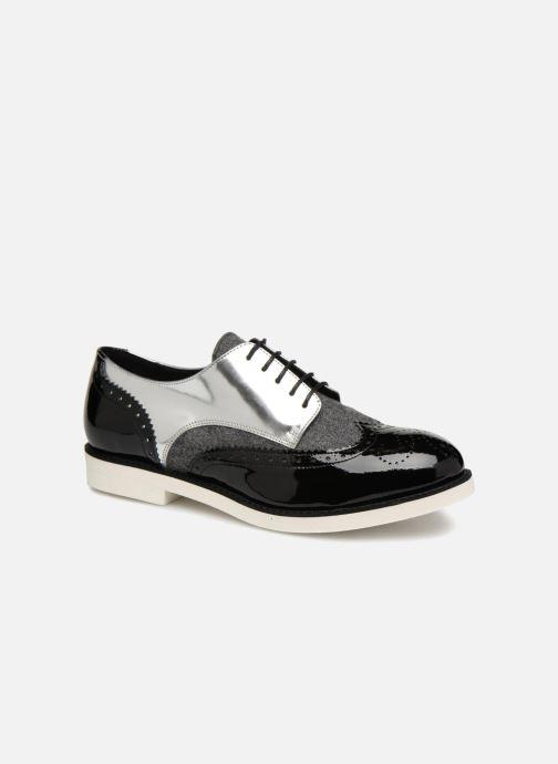 Lace-up shoes COSMOPARIS ELA Black detailed view/ Pair view