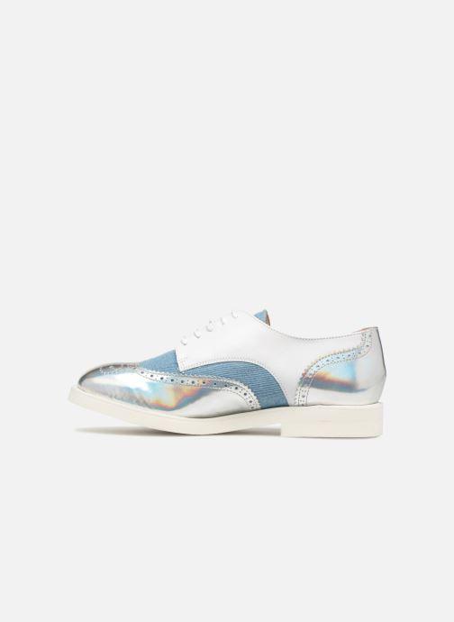 Chaussures à lacets COSMOPARIS ELA Blanc vue face