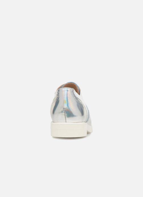 Chaussures à lacets COSMOPARIS ELA Blanc vue droite