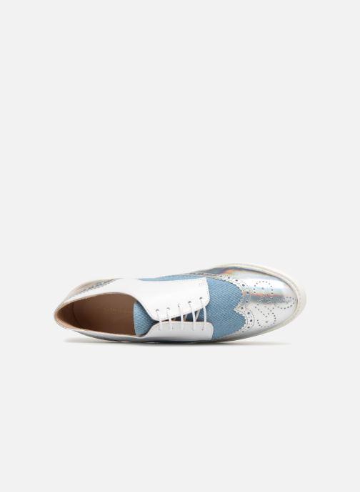 Chaussures à lacets COSMOPARIS ELA Blanc vue gauche